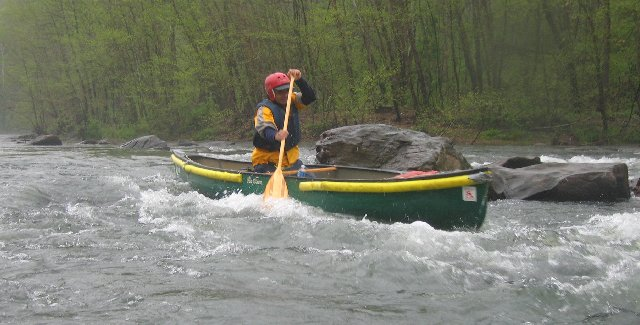 Nelson Downriver Race - 2005- Solo Men Canoe Racers
